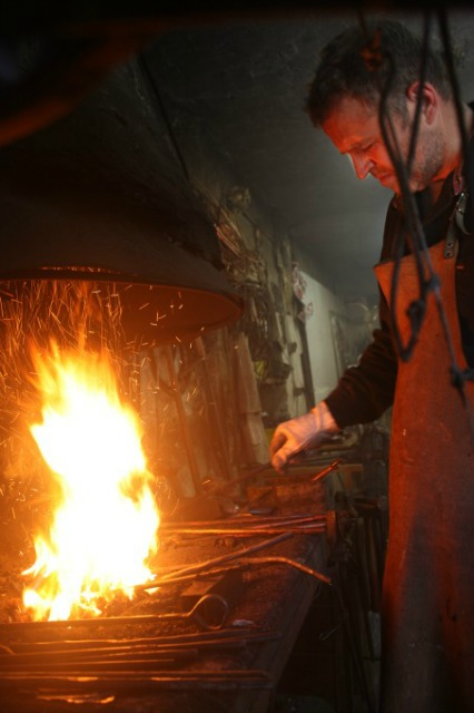 Know-How Tosello Réalisation - Laurent Tosello at the Forge